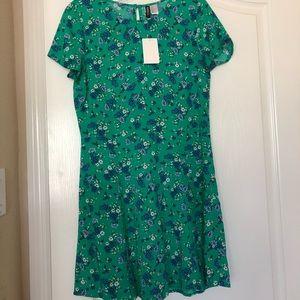 H&M green floral dress 👗